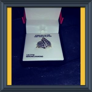 Jewelry - NWT Beautiful ring with a ¼ carat diamond weight